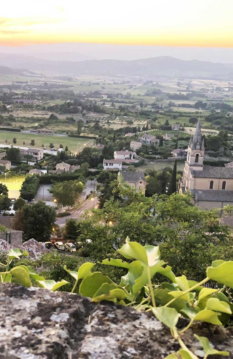 paysage provence intervention