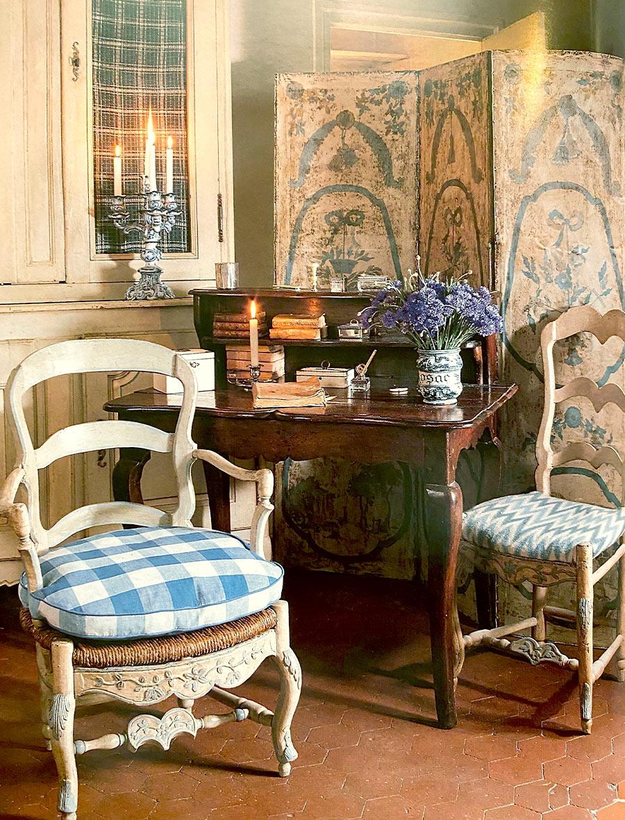 interieur décoration provençale